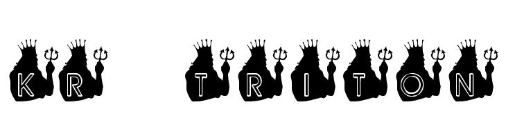 KR Triton  baixar fontes gratis