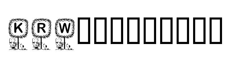 KR Washington  Free Fonts Download