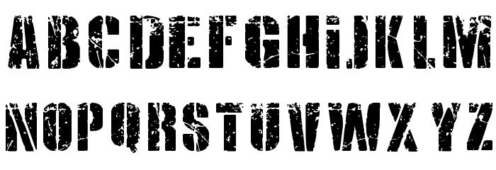 KRIPTON B Font LOWERCASE