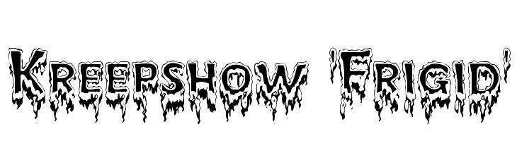 Kreepshow 'Frigid'  Descarca Fonturi Gratis