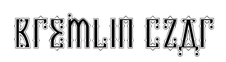 Kremlin Czar  Free Fonts Download