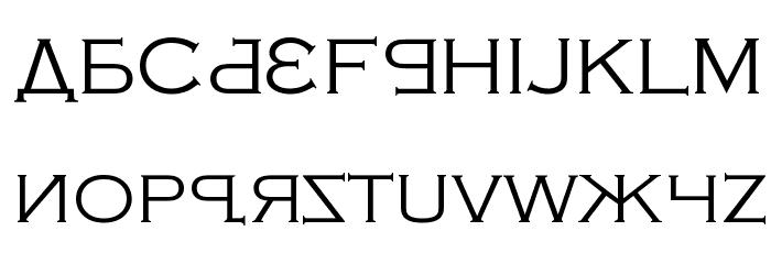 Kremlin Samovar Font UPPERCASE