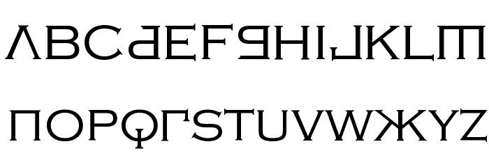 Kremlin Samovar Font LOWERCASE