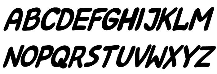 Kreskwka  Italic Шрифта строчной