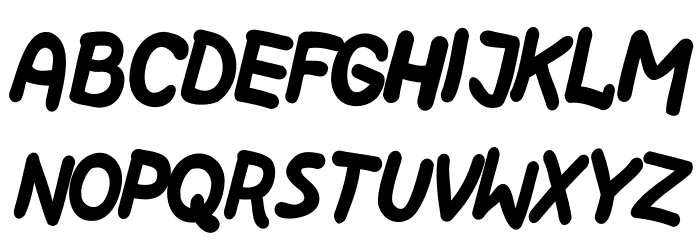 Kreskwka Pochya Шрифта строчной