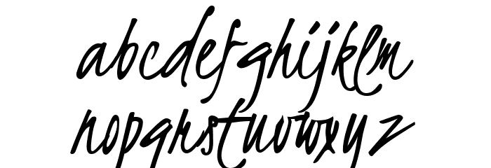 Kristi Font LOWERCASE