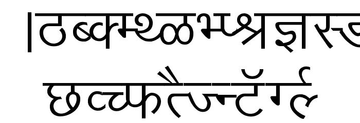 Kruti Dev 010 Font UPPERCASE