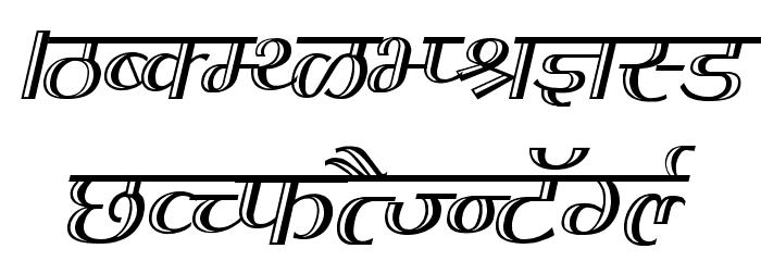 Kruti Dev 070  Thin Font UPPERCASE