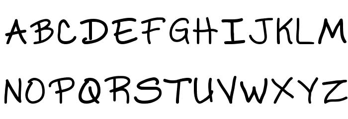 Ks Dont Blame Me Regular Font Litere mari