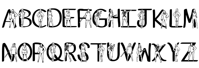 Ks Reputaytion Regular Font LOWERCASE