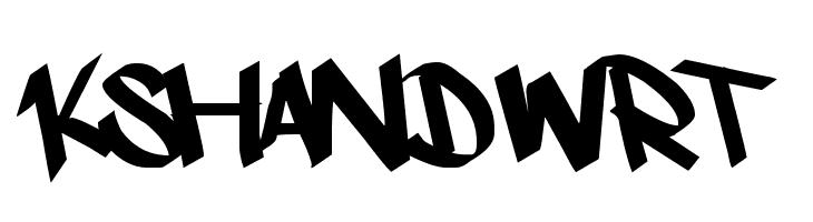 kshandwrt  لخطوط تنزيل