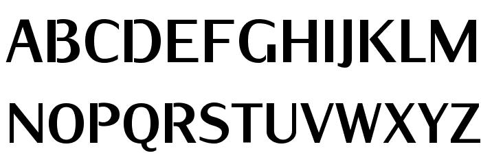 KurierCondHeavy-Regular Font UPPERCASE