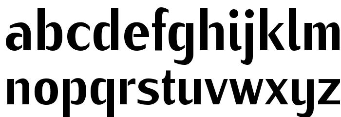 KurierCondHeavy-Regular Font LOWERCASE