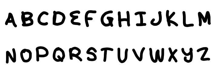 kunal Font UPPERCASE