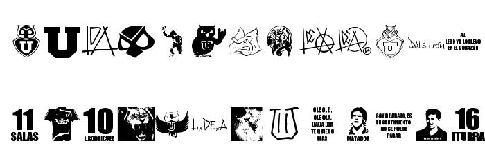 l de A 字体 大写