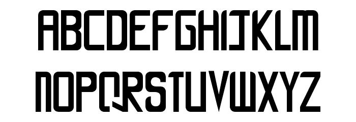 LA CALLE 6 - LJ-Design Studios Smooth Font Litere mici