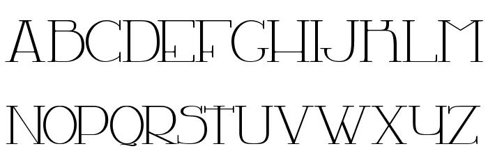 LA CHAMBRE 77 字体 大写