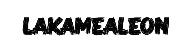 LA KAME A LEON     Скачать бесплатные шрифты