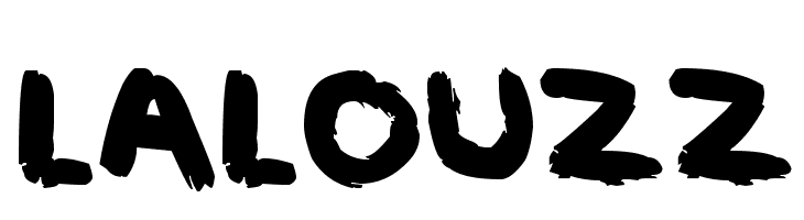 LALOUZZ  Free Fonts Download