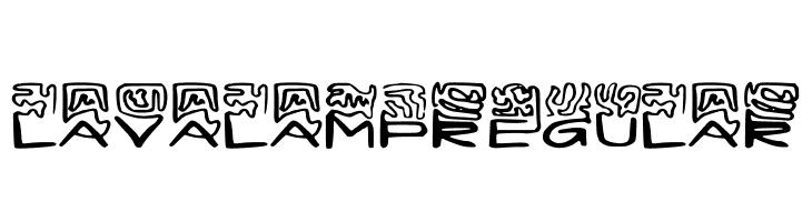 LAVALAMP-Regular  Free Fonts Download
