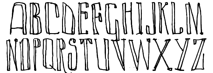 LAZY DAY Font LOWERCASE