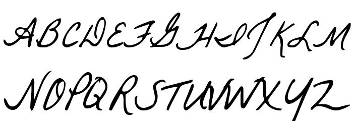 La Belle Aurore 字体 大写