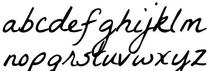 La Belle Aurore 字体 小写