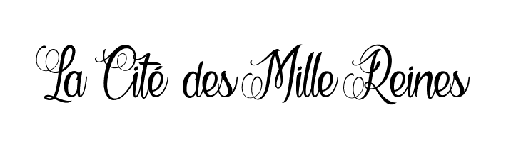 La Cit� des Mille Reines  Free Fonts Download