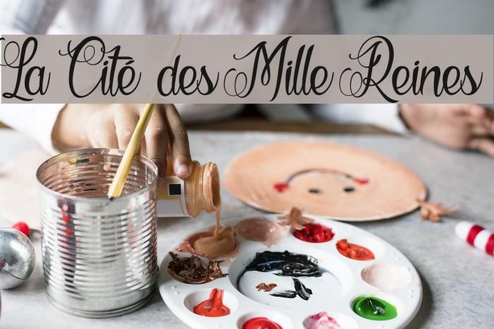 La Cité des Mille Reines Font examples