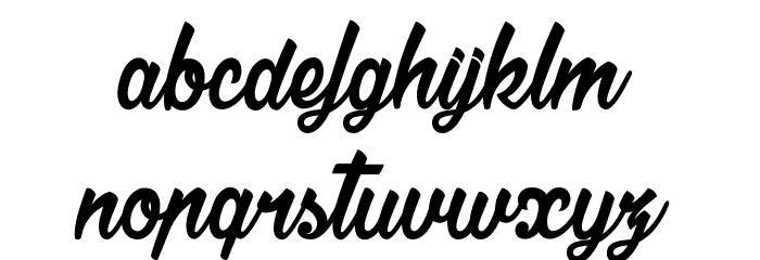 La Cithare Шрифта строчной