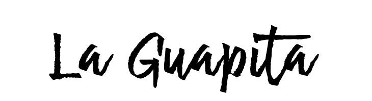 La Guapita फ़ॉन्ट