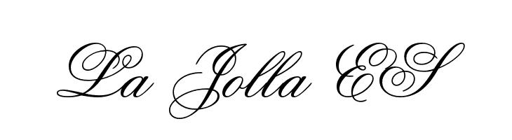La Jolla ES  Скачать бесплатные шрифты
