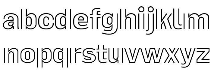 La Pejina ffp Font LOWERCASE