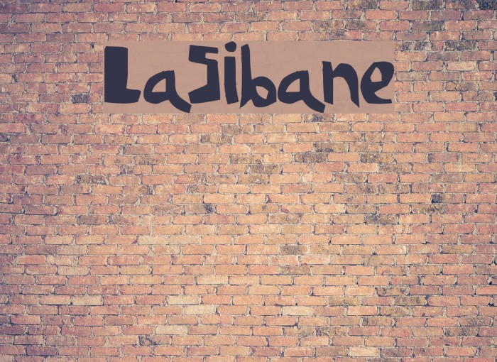 LaSibane Font examples
