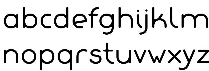 Lachata Font LOWERCASE