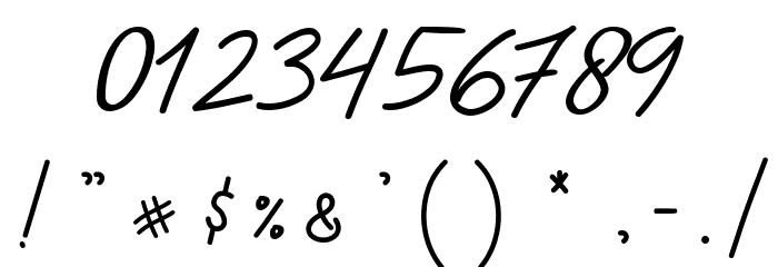 Ladybug font regular フォント その他の文字