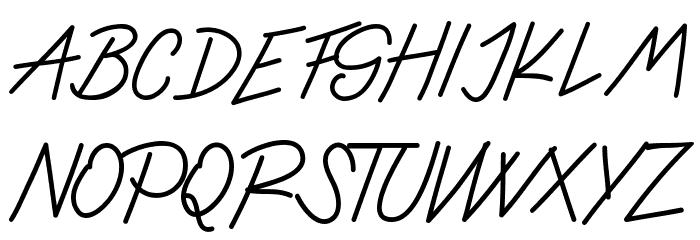 Ladybug font regular フォント 大文字