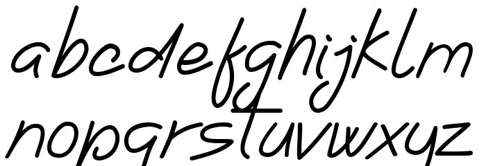 Ladybug font regular フォント 小文字