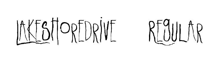 LakeshoreDrive-Regular  Free Fonts Download