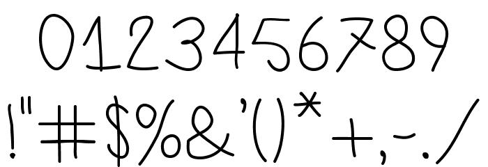 LamiarRegular Шрифта ДРУГИЕ символов