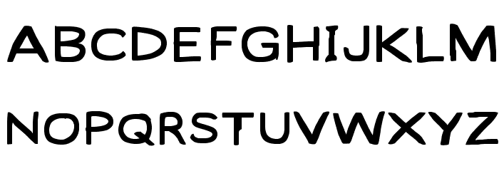 Lampshade SuperExtended Font UPPERCASE