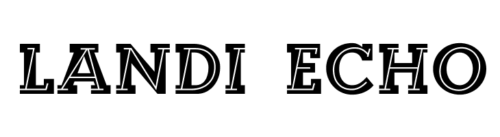 Landi_Echo  Free Fonts Download