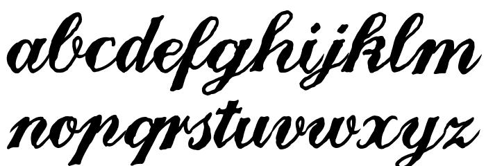Landliebe Font LOWERCASE