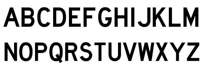 Lane C Font UPPERCASE