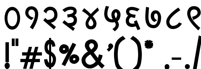 LangscapeDevPoojaBold Font OTHER CHARS