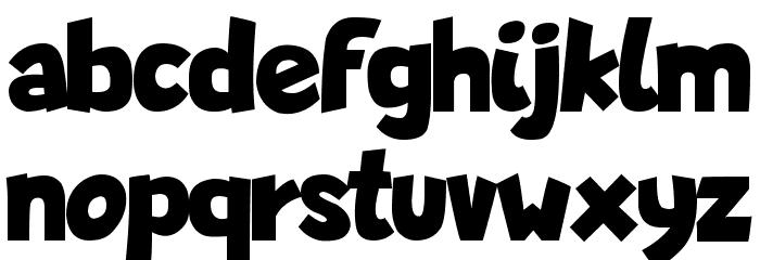Lapsus Pro Bold Font LOWERCASE