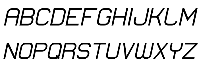 Lastwaerk regular Oblique Schriftart Groß