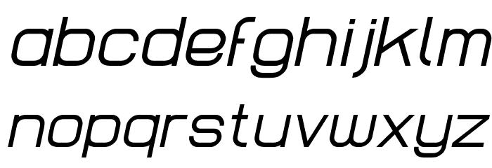 Lastwaerk regular Oblique Schriftart Kleinbuchstaben