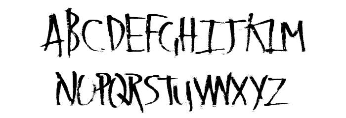 LateVaping Font Litere mari