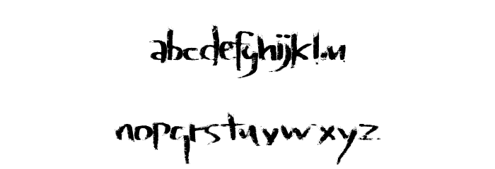 LateVaping Font Litere mici